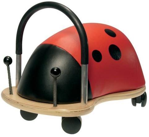 Wheelybug loopauto Lieveheersbeestje groot