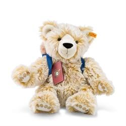 Steiff knuffel Around the world bears Lars, the globetrotting Teddy bear, blond tippe 38 cm