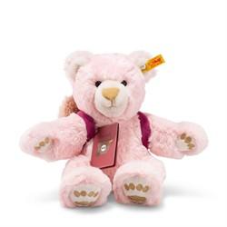 Steiff knuffel Around the world bears Lula, the globetrotting Teddy bear, pink/beige 30 cm