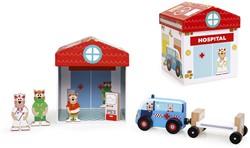 Scratch Preschool: Speeldoos Ziekenhuis 2-In-1