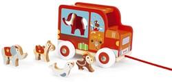 Scratch Preschool: Sorteerwagen/Circus, Met Laadklep En Accessoires