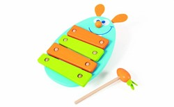 Scratch  houten muziekinstrument Xylofoon konijn