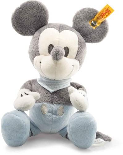 Steiff Mickey Mouse met piepgeluid en knisperfolie
