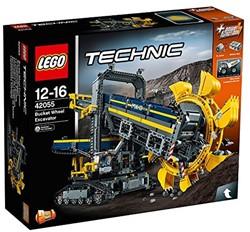 LEGO Technic Emmerwiel graafmachine 42055