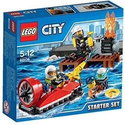 Lego  City brandweer starterset 60106