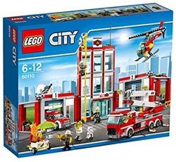 LEGO City Brandweer - Brandweerkazerne 60110