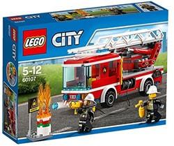 LEGO City Brandweer - Ladderwagen 60107