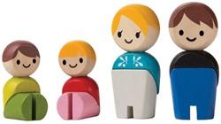 Plan Toys  Plan City houten speelstad poppentjes European family