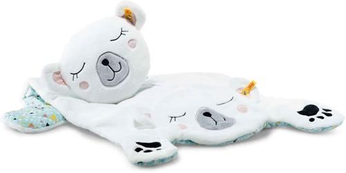 Steiff Soft Cuddly Friends Iggy polar bear play mat, white/multicoloured
