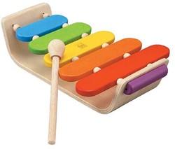 Plan Toys  houten muziekinstrument Ovale Xylofoon