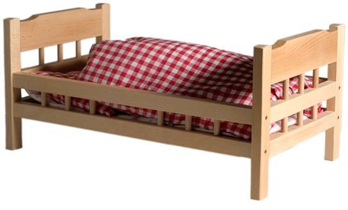 Van Dijk Poppenledikant beuken (flatpacked)