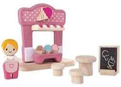 Plan Toys Plan City houten gebouw Ijswinkel
