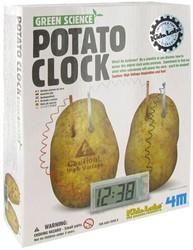 4M  Green Science wetenschapsdoos Aardappel klok