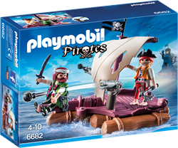 Playmobil Pirates - Piratenvlot  6682