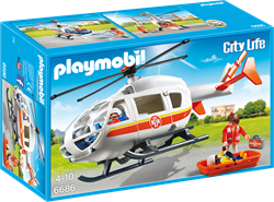 Playmobil City Life  - Traumahelikopter  6686