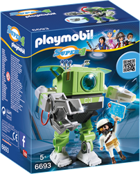 Playmobil Super 4 - Cleano-Robot  6693