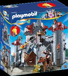 Playmobil Super 4 - Meeneemburcht van de Zwarte Baron  6697