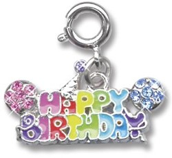 Charm It  sieraden bedeltje happy birthday