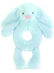 Jellycat Bashful Blue Bunny Grabber - 18cm