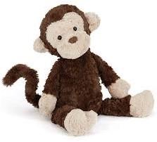 Jellycat knuffel Mumble Monkey Small - 23cm