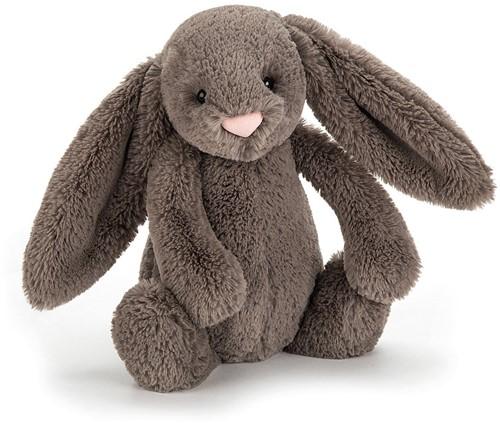 Jellycat knuffel bashful bunny truffle medium 31cm