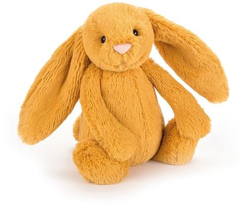 Jellycat knuffel bashful bunny saffron medium 31cm