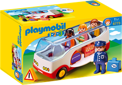 Playmobil 1.2.3 - Autobus 6773