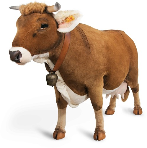 Steiff Studio cow, brown