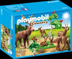 Playmobil  Country Hertenfamilie met kalfje 6817