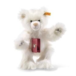 Steiff knuffel Around the world bears Ida, the globetrotting Teddy bear, white 30 cm