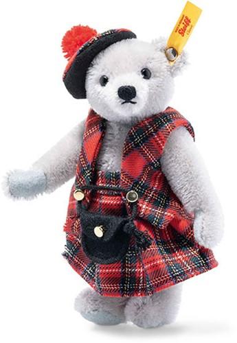 Steiff Great Escapes Edinburgh Teddy bear in gift box, grey