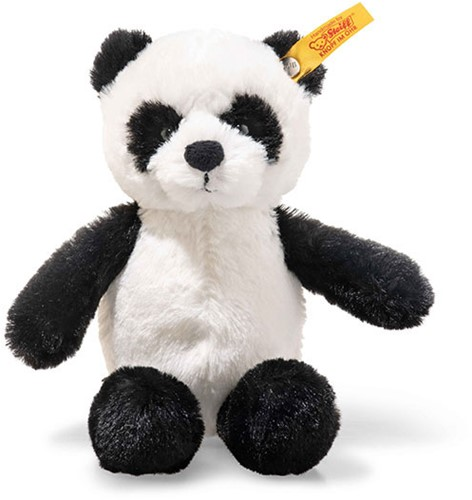 Steiff Soft Cuddly Friends panda Ming met Sticker App