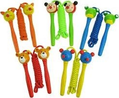 BigJigs Coloured Skipping Rope (12)