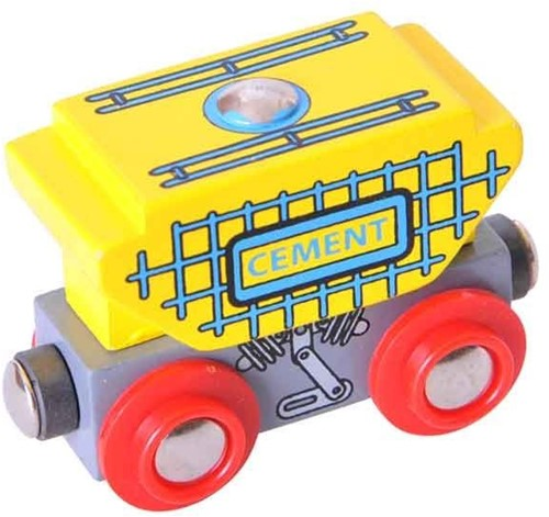 BigJigs Cement Wagon