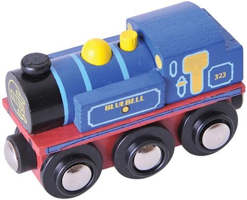 Bigjigs Bluebell Locomotief
