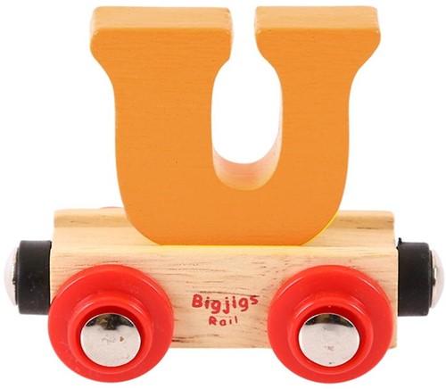 Bigjigs Lettertrein U