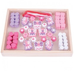 BigJigs Bead box - Fairies