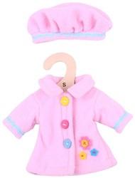 BigJigs 25cm Pink Hat and Coat