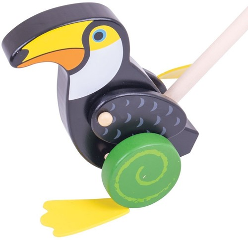 Bigjigs Toucan Push Along (4)