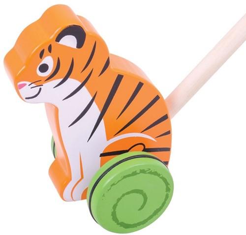 Bigjigs Tiger Push Along (4)