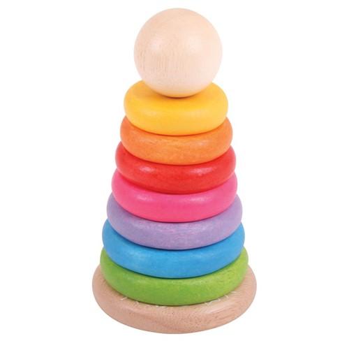 Bigjigs Rainbow Stacker