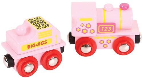 Bigjigs Pink 123 Engine (4)