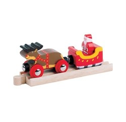 BigJigs Santa Sleigh with Reindeer (4)