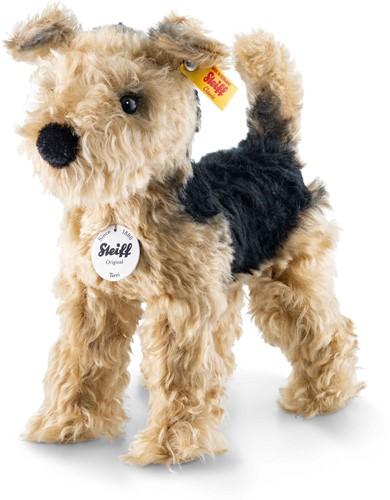 Steiff Terri Welsh Terrier, golden brown/black