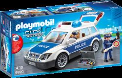 Playmobil City Action - Politiepatrouille met licht en geluid  6920
