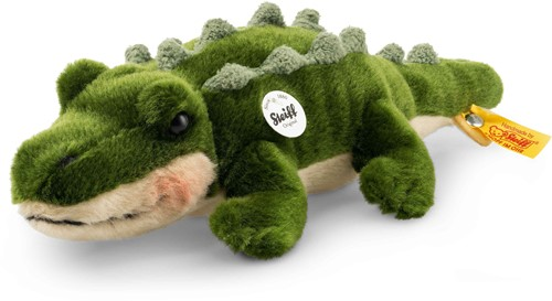 Steiff Rocko crocodile, green