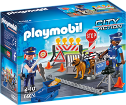 Playmobil City Action - Politiewegversperring  6924