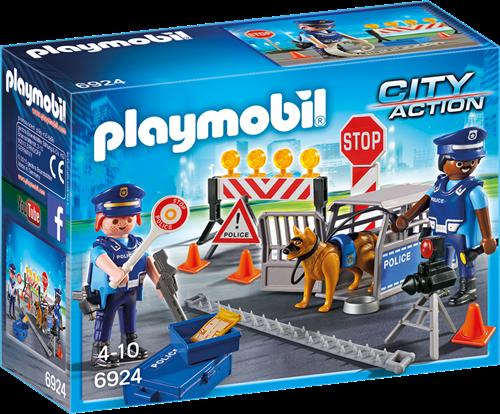 Playmobil City Action - Politiewegversperring 6924
