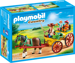 Playmobil country paard en kar 6932