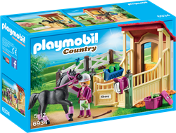 Playmobil country arabier met paardenbox 6934